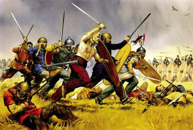 Кельтські воїни